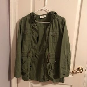 Army green jacket from Nordstrom BP in size XS